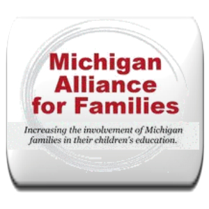 michigan alliance for families button