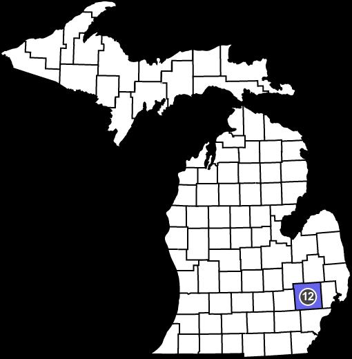 MAF Michigan Map